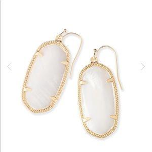 Kendra Scott Elle White Earring